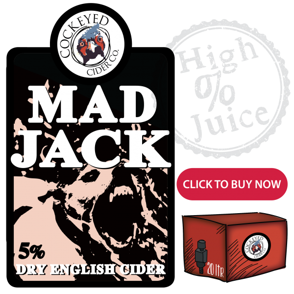 Mad Jack Cider- Buy Bag Cider Online UK