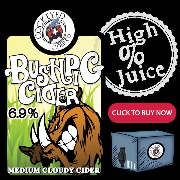 Bush Pig Cider- Buy Scrumpy Cider Online