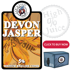 Devon Jasper Cider- Bag in Box Cider