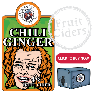 Chilli Ginger Cider 4% - Craft Cider Online