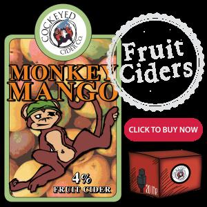 Monkey Mango - bag in box cider online