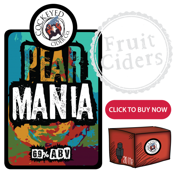 Pear Mania - pear cider online
