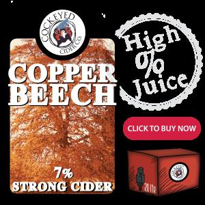 Copper Beach Strong Cider - Bulk Buy Cider